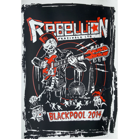 Rebellion 2014 Screen-printed Poster