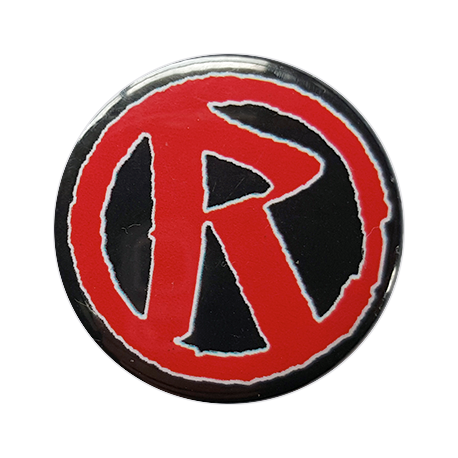 Rebellion 'R' Logo Button Badge