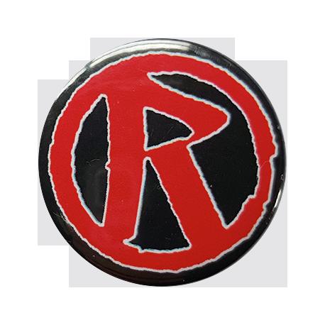 Rebellion 'R' Logo Button Badge