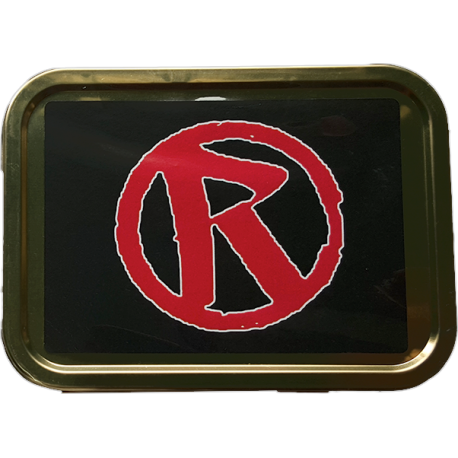 Rebellion 'R' Logo Tobacco Tin
