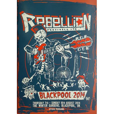 Rebellion 2014 Festival Programme