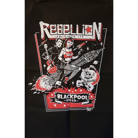 Rebellion 2015 Tea Towel