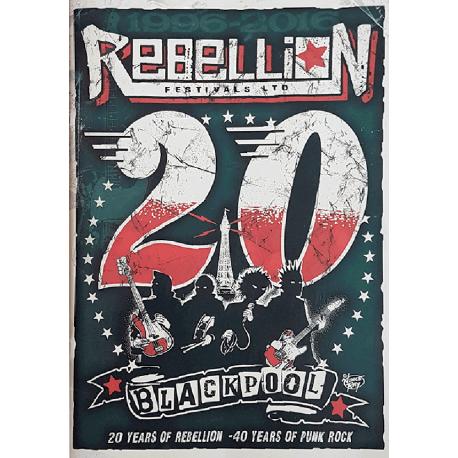 Rebellion 2016 Festival Programme