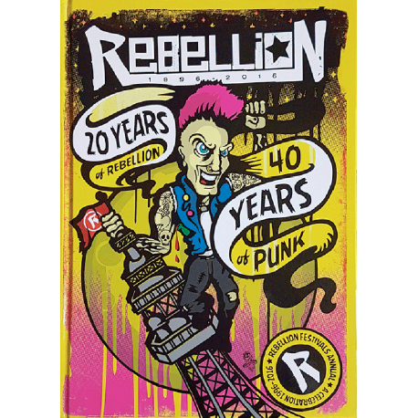 Rebellion 2016 Festival Annual