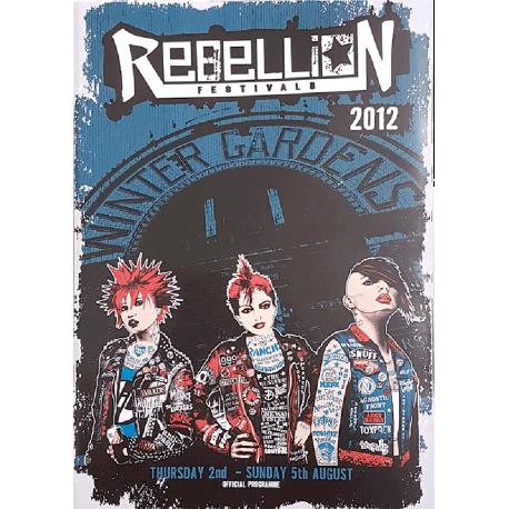 Rebellion 2012 Festival Programme