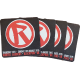 Rebellion 2015 Coaster/Beer Mat (pack of 6)