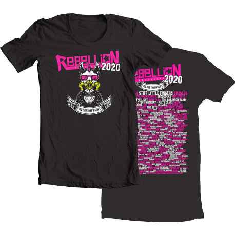 Rebellion 2020 Black T-shirt