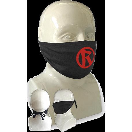 Rebellion 2020 Red Logo Tie Back Face Mask