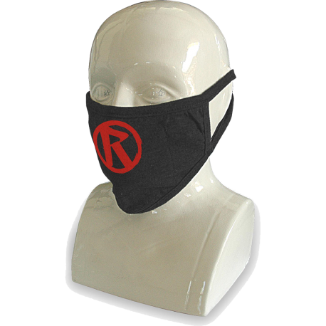 Rebellion 2020 Red Logo Over Ear Face Mask