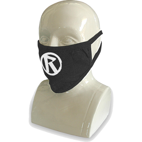 Rebellion 2020 White Logo Over Ear Face Mask