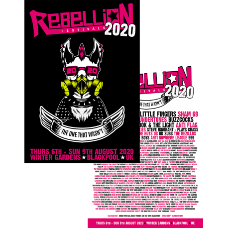 Rebellion 2020 A3 Poster Pack