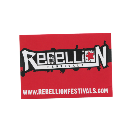 Rebellion Logo Sticker