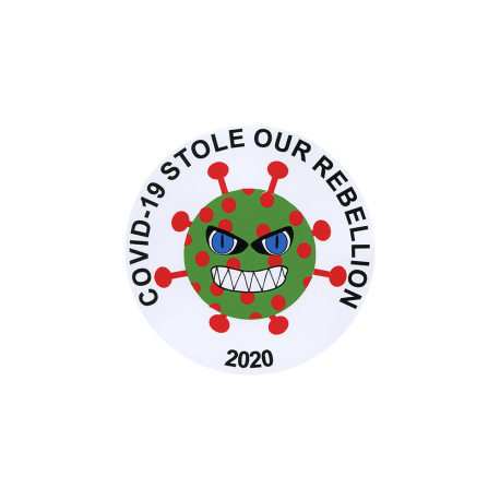 Rebellion COVID-19 Sticker